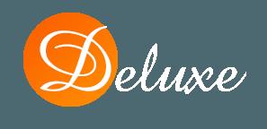 Logo Sprzątanie Deluxe –  firmy oferującej sprzątanie biur, usługi porządkowe, sprzątanie przychodni we Wrocławiu